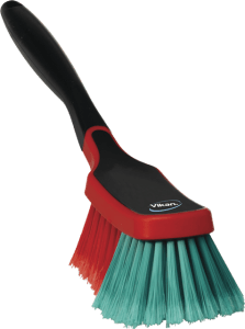 Vikan 525252 Multi Brush/Rim Cleaner 290 mm Soft/split Black