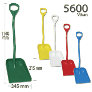 Vikan 5600 Ergonomic shovel 380 x 340 x 90 mm 1140 mm