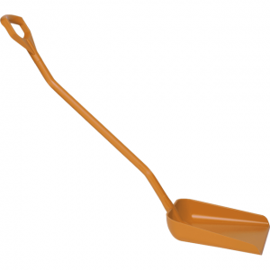 Vikan 56017 Ergonomic shovel 380 x 340 x 90 mm 1310 mm Orange