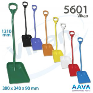 Vikan 5601 Ergonomic shovel 380 x 340 x 90 mm 1310 mm