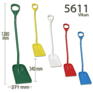Vikan 5611 Ergonomic shovel 340 x 270 x 75 mm 1280 mm
