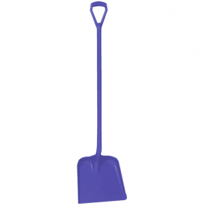 Vikan 56258 One Piece Shovel D Grip 327 x 271 x 50 mm 1040 mm Purple