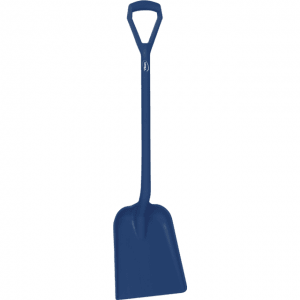 Vikan 562599 Shovel Metal Detectable D Grip 327 x 271 x 50 mm 1040 mm Dark blue
