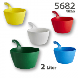 Vikan 5682 Round Bowl Scoop 2 Litre(s)
