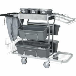 Vikan 580110 Cleaning trolley large 60 cm Grey