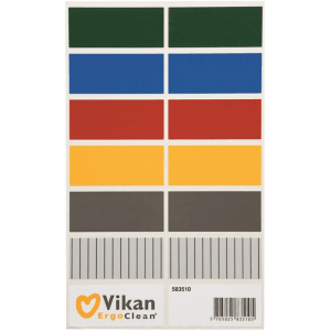 Vikan 583510 Colour coding stickers