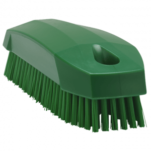 Vikan 64402 Hand Brush S / Nailbrush 130 mm Hard Green