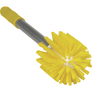Vikan 70336 Pipe Brush with Handle Ø90 mm Medium Yellow