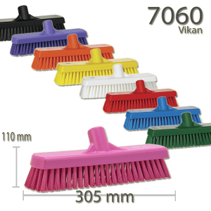 Vikan 7060 Wall-/Floor Washing Brush 305 mm Hard