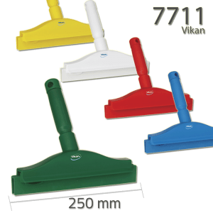 Vikan 7711 Hygienic Hand Squeegee with replacement cassette 250 mm