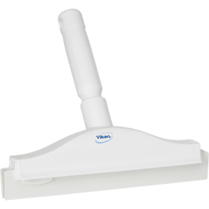 Vikan 77115 Hygienic Hand Squeegee with replacement cassette 250 mm White