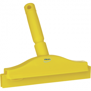 Vikan 77116 Hygienic Hand Squeegee with replacement cassette 250 mm Yellow