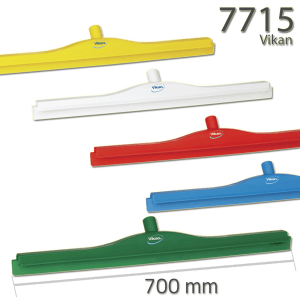 Vikan 7715 Hygienic Floor Squeegee w/replacement cassette 700 mm