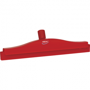 Vikan 77224 Hygienic Revolving Neck Squeegee w/replacement cassette 405 mm Red