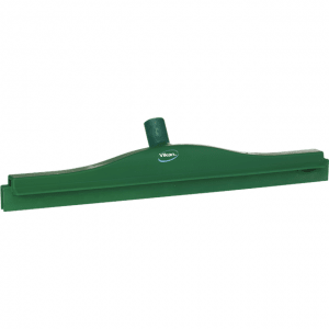 Vikan 77232 Hygienic Revolving Neck Squeegee w/replacement cassette 505 mm Green