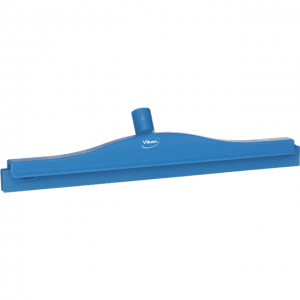 Vikan 77233 Hygienic Revolving Neck Squeegee w/replacement cassette 505 mm Blue