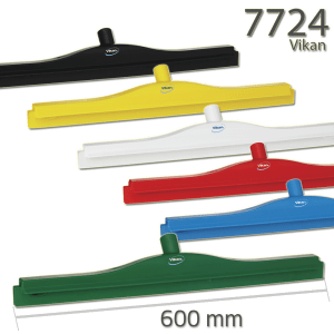Vikan 7724 Hygienic Revolving Neck Squeegee w/replacement cassette 600 mm