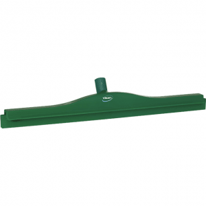 Vikan 77242 Hygienic Revolving Neck Squeegee w/replacement cassette 600 mm Green
