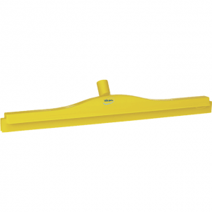 Vikan 77246 Hygienic Revolving Neck Squeegee w/replacement cassette 600 mm Yellow