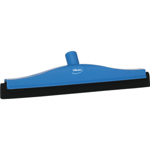 Vikan 77523 Floor squeegee w/Replacement Cassette 400 mm Blue