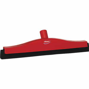 Vikan 77524 Floor squeegee w/Replacement Cassette 400 mm Red