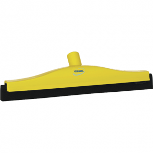 Vikan 77526 Floor squeegee w/Replacement Cassette 400 mm Yellow