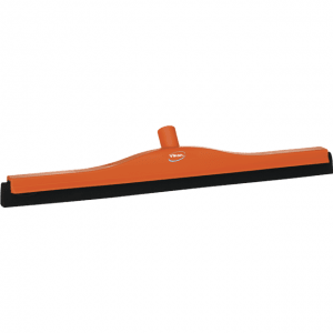 Vikan 77547 Floor squeegee w/Replacement Cassette 600 mm Orange