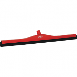 Vikan 77554 Floor squeegee w/Replacement Cassette 700 mm Red