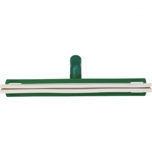 Vikan 77622 Revolving Neck Floor squeegee w/Replacement Cassette 400 mm Green
