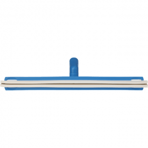Vikan 77633 Revolving Neck Floor squeegee w/Replacement Cassette 500 mm Blue