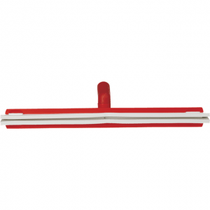 Vikan 77634 Revolving Neck Floor squeegee w/Replacement Cassette 500 mm Red