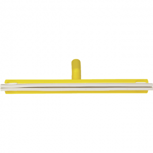 Vikan 77636 Revolving Neck Floor squeegee w/Replacement Cassette 500 mm Yellow