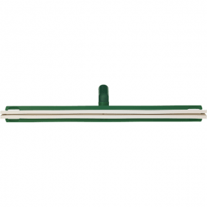 Vikan 77642 Revolving Neck Floor squeegee w/Replacement Cassette 600 mm Green