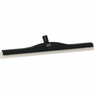 Vikan 77649 Revolving Neck Floor squeegee w/Replacement Cassette 600 mm Black