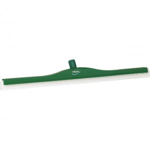 Vikan 77652 Revolving Neck Floor squeegee w/Replacement Cassette 700 mm Green