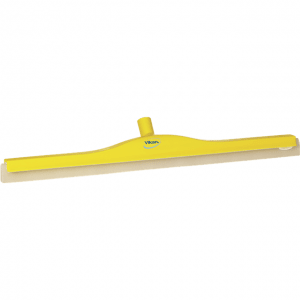 Vikan 77656 Revolving Neck Floor squeegee w/Replacement Cassette 700 mm Yellow