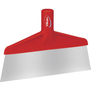 Vikan 29104 Table & Floor Scraper 260 mm Red