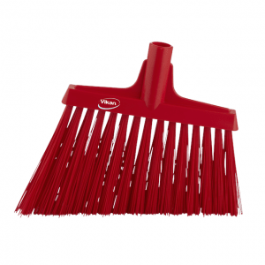 Vikan 29144 Broom Angle Cut 290 mm Very hard Red