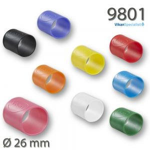 Vikan 9801 Colour Coding Rubber Band x 5 26 mm