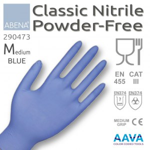 nitrile-blue-medium