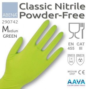 nitrile-green-medium